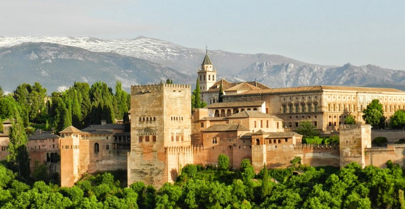 The Alhambra - Granada, Spain (image: Pixabay)