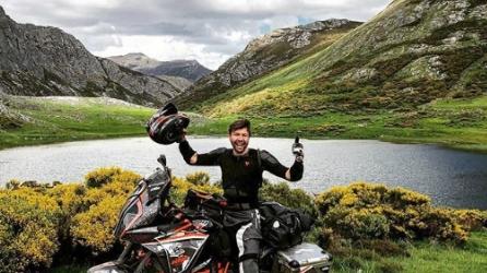 Johnny Nice, The Brave Biker (image supplied)