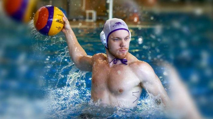 Amsterdam gay water polo team in action (image supplied)