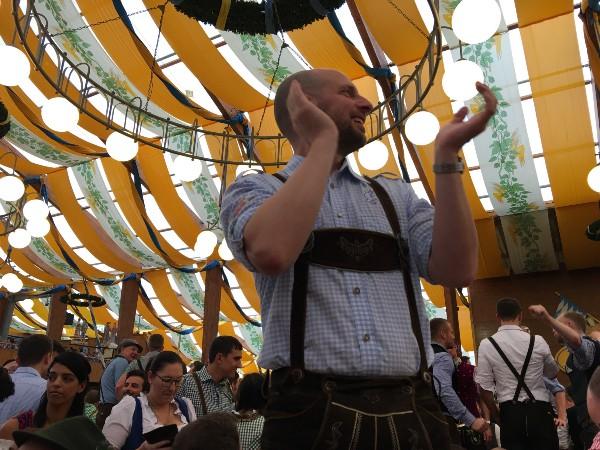 Gay day at Oktoberfest in Munich (2016). Photo: Gareth Johnson