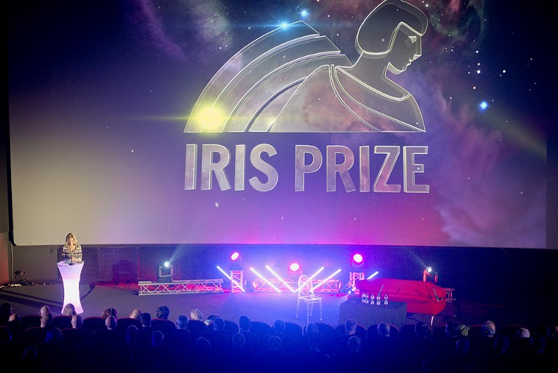 Opening night stage at the Iris Prize (image supplied)
