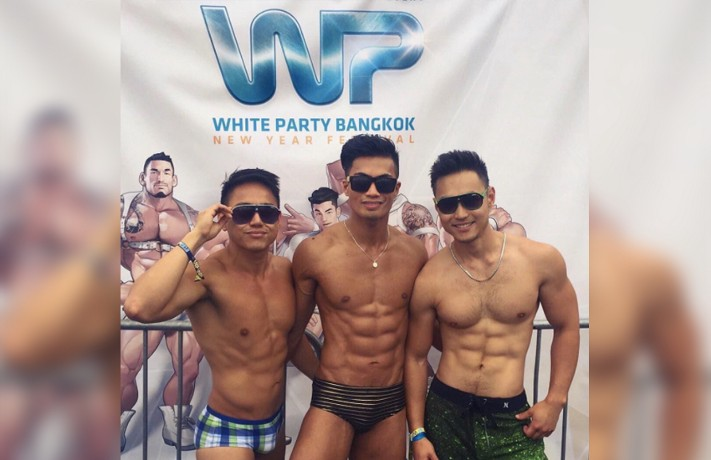 White Party, Bangkok (image published via Instagram)
