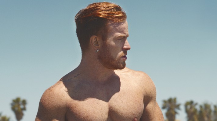 Eddie Eduardo is Mr April in the Red Hot American Boys calendar for 2019 (image supplied)