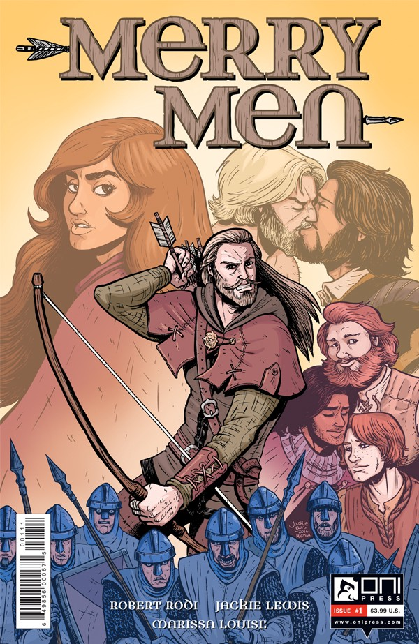 Merry Men cover art courtesy of Oni Press