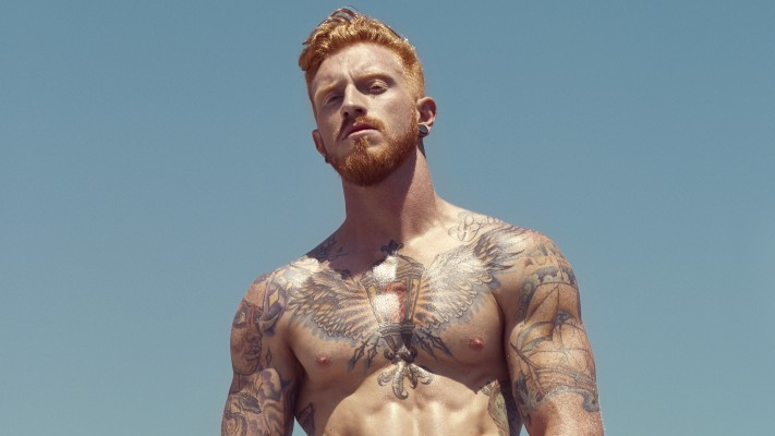 Mark Rector is Mr May in the Red Hot American Boys calendar for 2019 (image supplied)