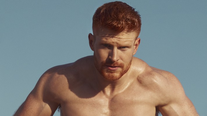 Conor Naab is Mr November in the Red Hot American Boys calendar for 2019 (image supplied)