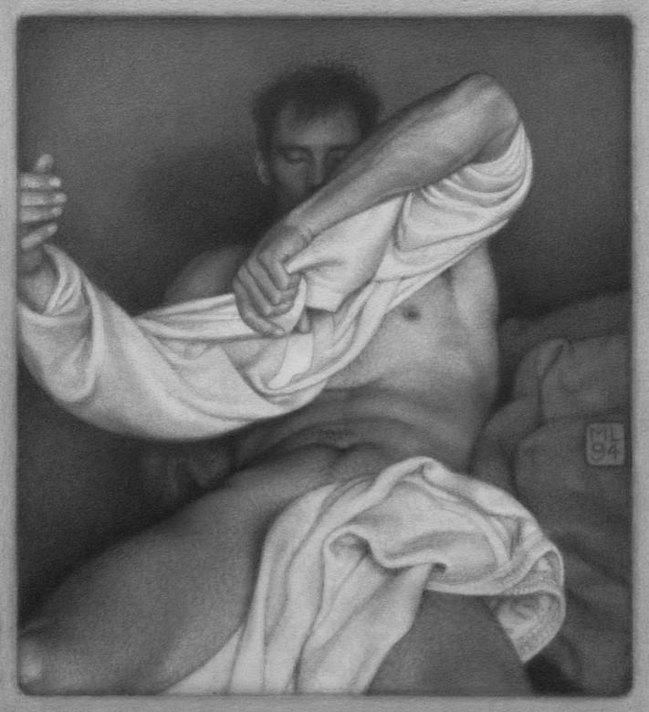 Michael Leonard, Change into White, 1994 (image supplied)