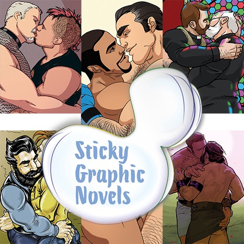Sticky Graphic Novels by Dale Lazarov (image supplied)