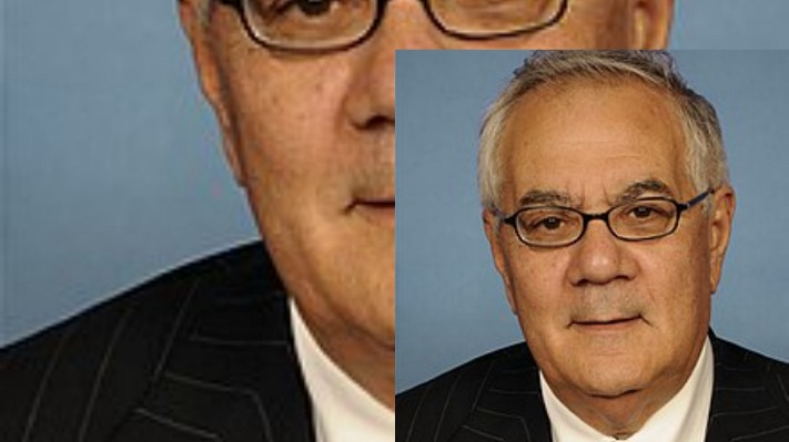 Barney Frank (image published via Wikipedia)