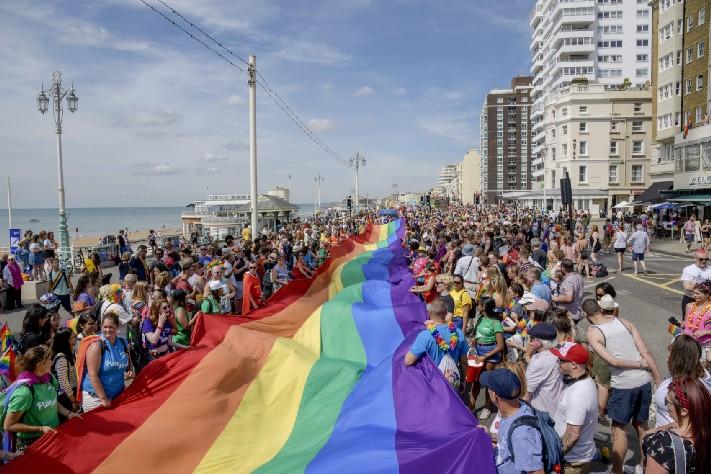 Brighton Pride 2018. Photo: Chris Jepson (image supplied)