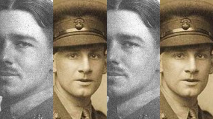 Siegfried Sassoon and Wilfred Owen (images published via Wikipedia)