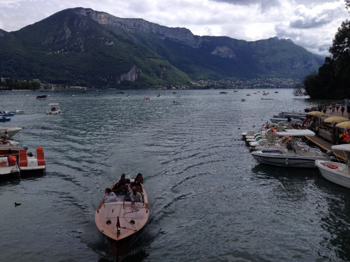 The lake at Annecy, France. Photo: Gareth Johnson