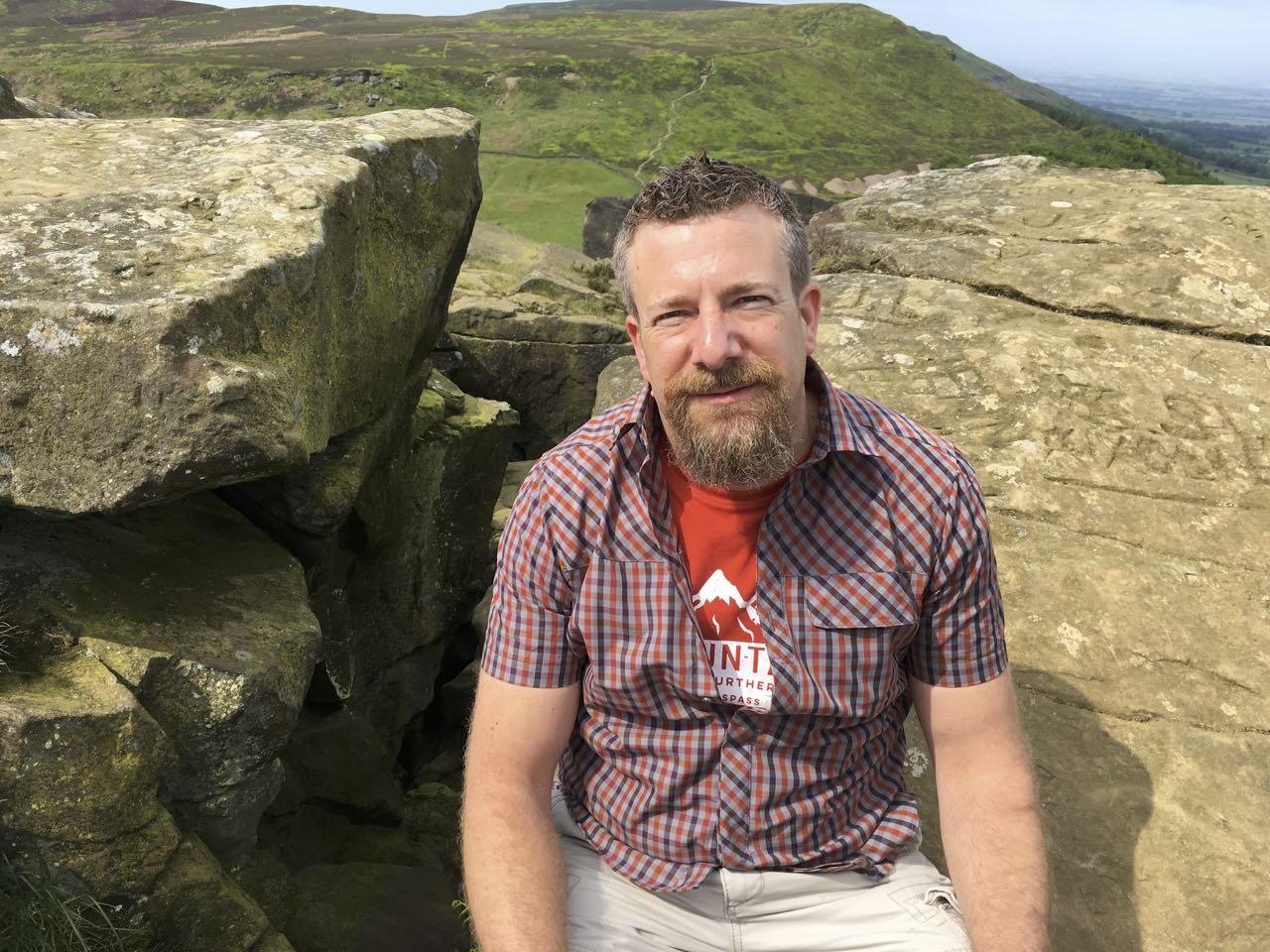 Trevor Barton, author of the Brobots trilogy. Image supplied