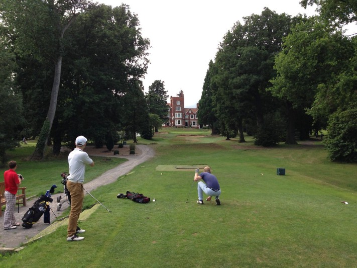 Irons Golf Society-London's LGBTQ golf club. Image courtesy of Irons Golf Society.