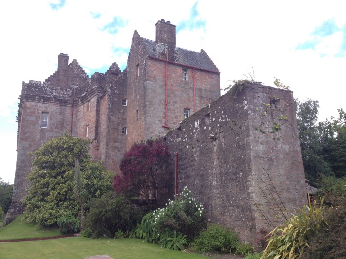 Brodick Castle on the Isle of Arran. Photo: Gareth Johnson