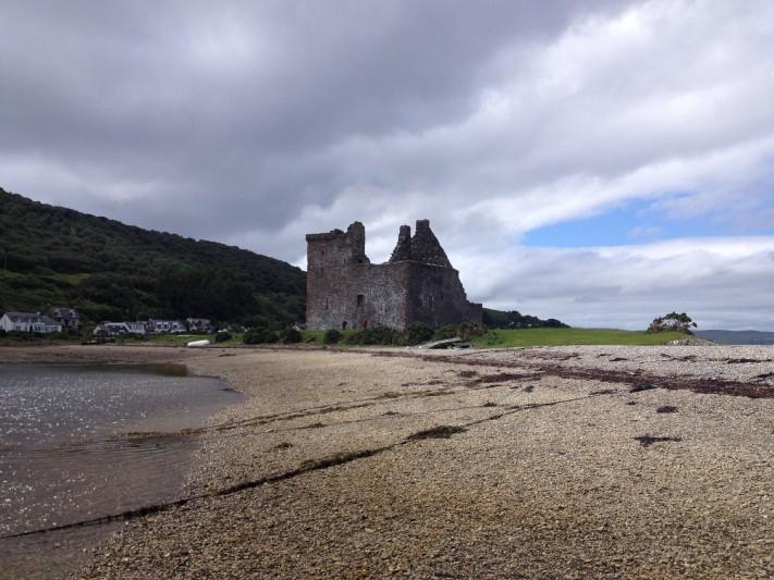 The ruins of Lochranza Castle. Photo: Gareth Johnson