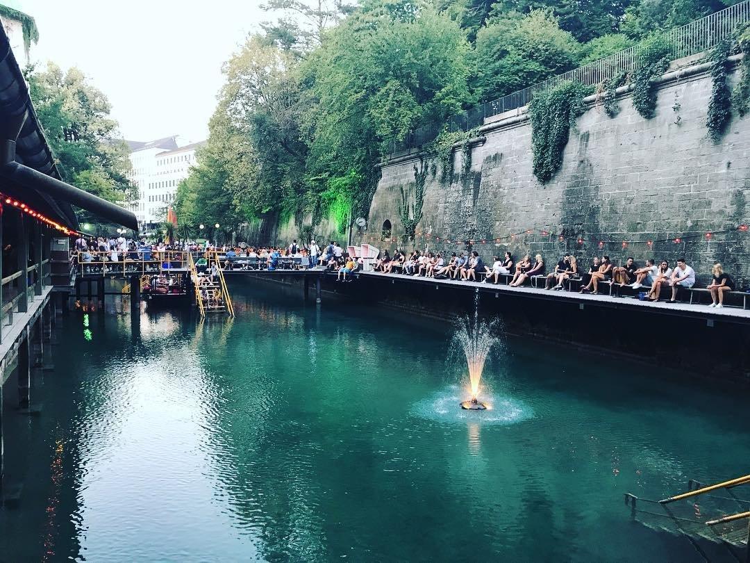 Swimming in Zurich (image supplied)