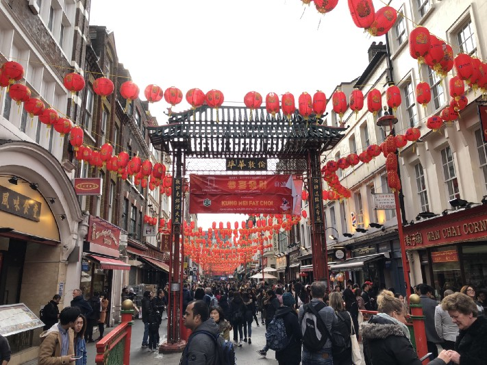 London's Chinatown. Photo: Gareth Johnson.