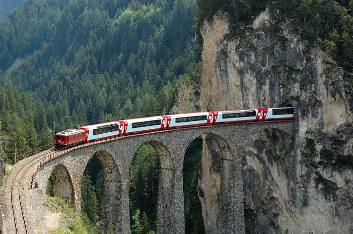 Great train journeys of the world: The Glacier Express