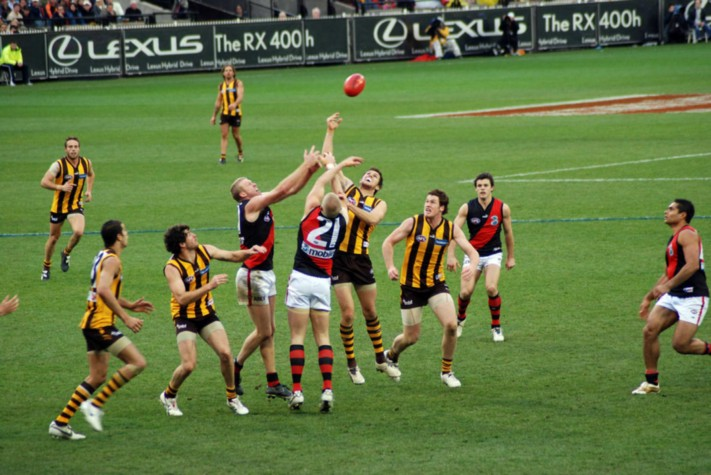 Melbourne gripped by football fever (image: Wikimedia)