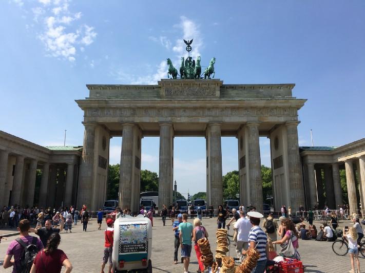 The Brandenburg Gate-Berlin, Germany. Photo: Gareth Johnson