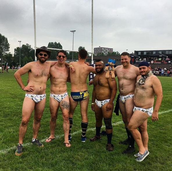 Gay rugby fuck