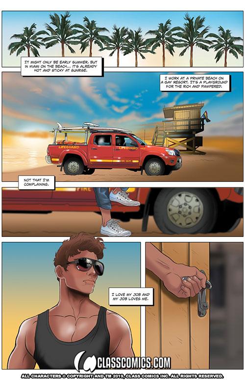 Gay erotic comic
