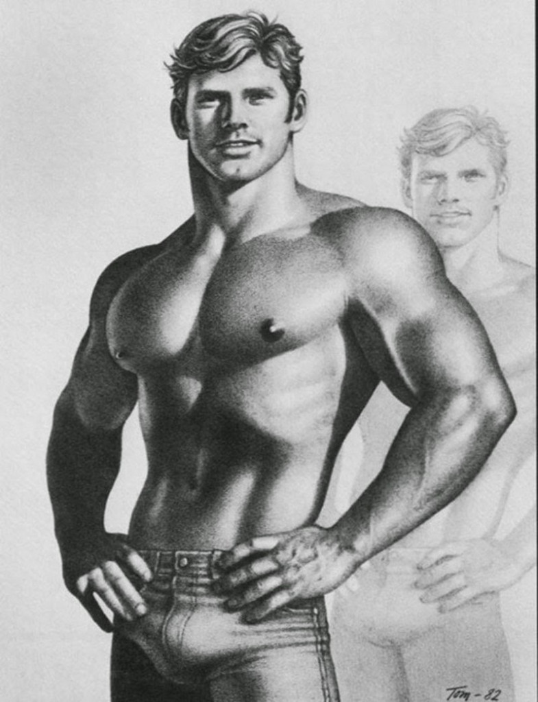 The artist who recreated tom of finland's drawings for women